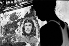 Wall painting of che Guevara