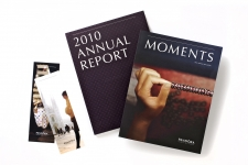 Pandora Annual Report and Moments magazine