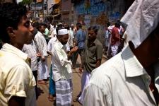 Street trading in Sri Lanka