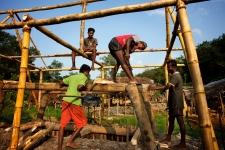 Mine pit in Sri Lanka