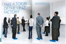 Nycomed Closer magazine,  assignment from factory in Linz, Austria.